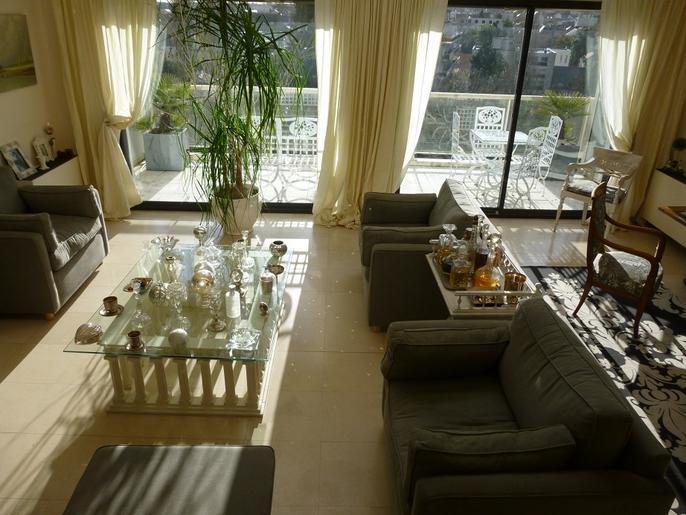 Grand T4 duplex dernier étage av terrasse panoramique