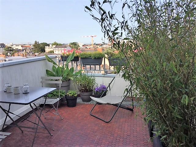 T3 dernier étage av terrasses vues panoramiques